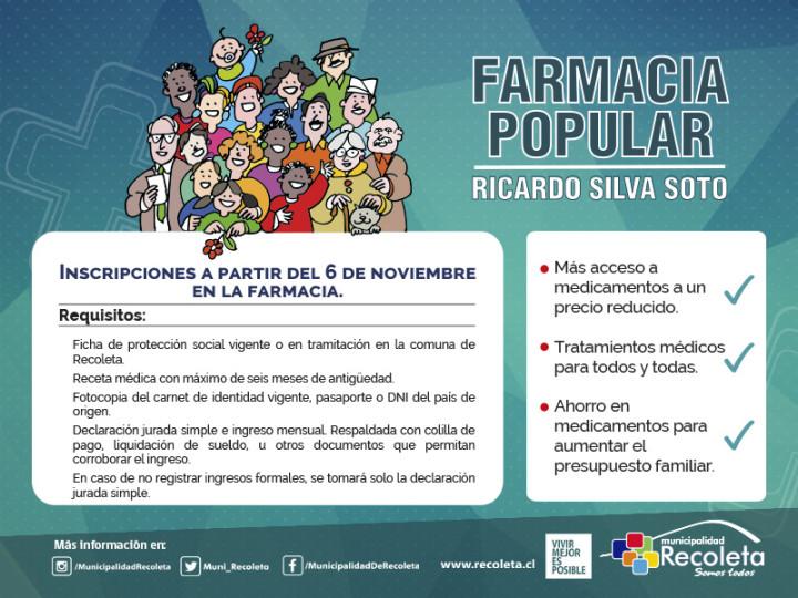 Cile: una farmacia popolare per combattere le disuguaglianze