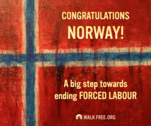 Norway ratifies the Protocol to the Forced Labour Convention – C29