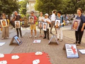 Ogni giovedì la Marcia per i nuovi Desaparecidos