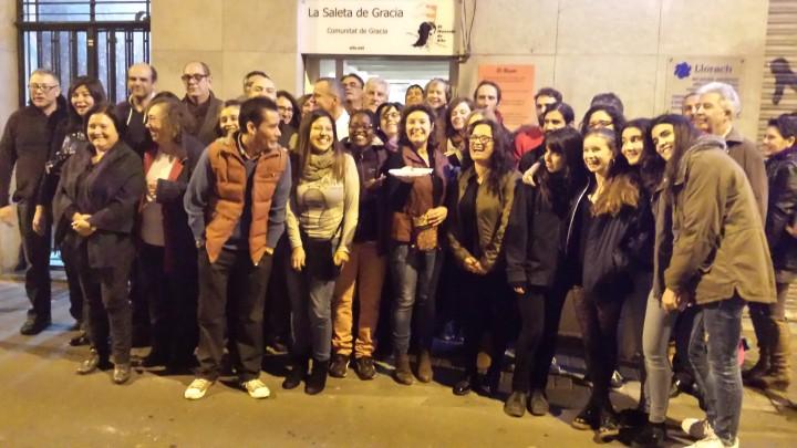 Inauguración de La Saleta de Gracia de  El Mensaje de Silo en Barcelona