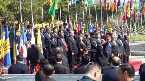 Ο Πρόεδρος του Ισημερινού, Ραφαέλ Κορέα, ανοίγει τη διάσκεψη κορυφής CELAC