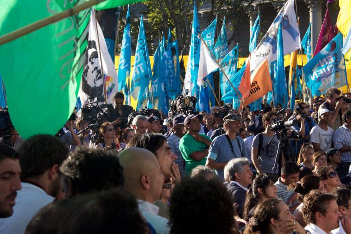Buenos Aires, manifestazione per la liberazione di Milagro Sala