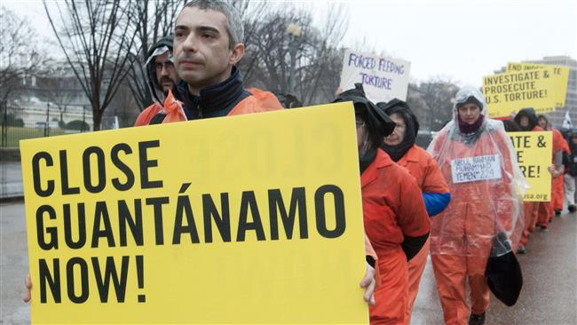 US activists mark Guantanamo anniversary in Washington
