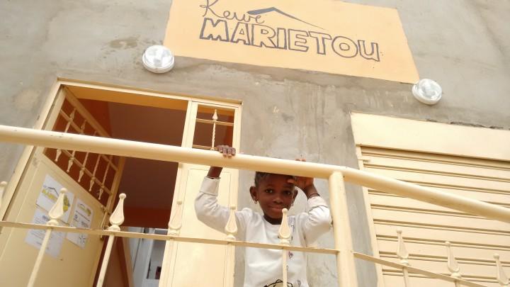 Einweihung des Hauses Keur Marietou für Frauen und Kinder