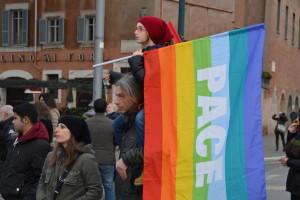 Manifestazione contro la guerra: le foto di Roma