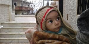 Dans la ville assiégée de Madaya, des enfants faméliques se nourrissent de feuilles d'arbres, de chats et d'insectes.