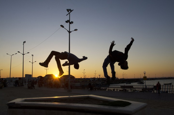 Gaza Parkour volare per essere liberi