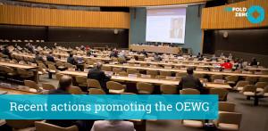 Treffen der UN Arbeitsgruppe zur Abrüstung von Atomwaffen