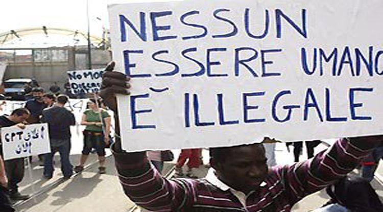 reato clanestinità nessun essere umano illegale