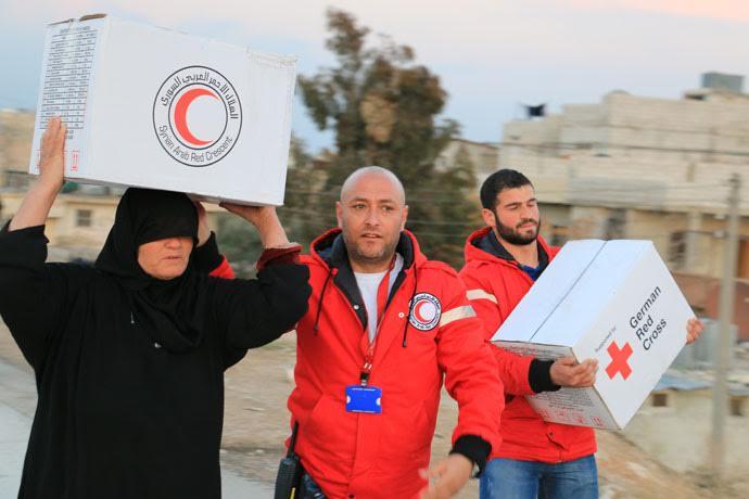 Siria, la Croce Rossa grida la sua speranza di pace