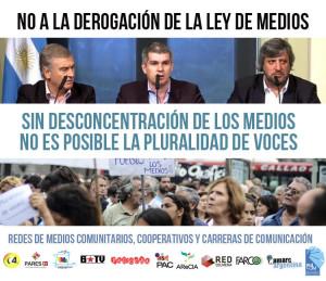 Sin desconcentración de los medios no es posible la pluralidad de voces