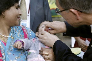 Five polio-free years in South-East Asia Region, announces UN health agency
