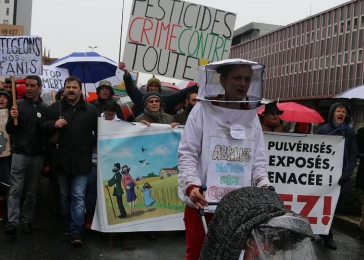 11-Marche blanche contre les pesticides à Bordeaux