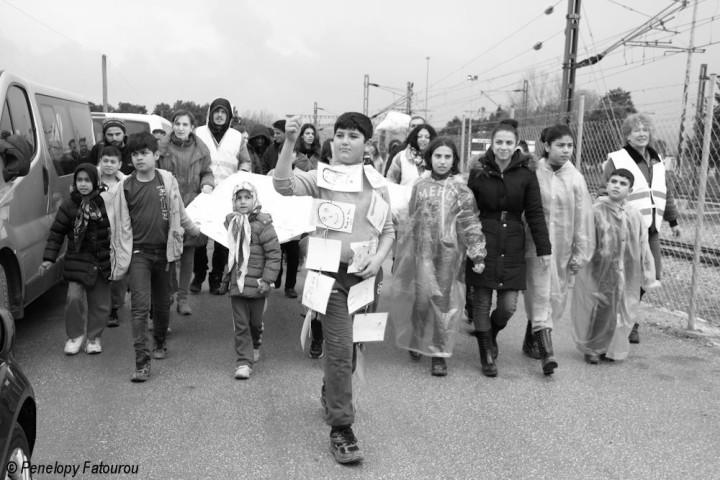 Open Border Parade – Safe Passage: Ζητάμε ασφαλή διέλευση των ανθρώπων από τα σύνορα