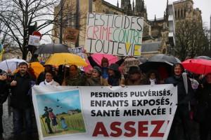 Marche blanche contre les pesticides à Bordeaux