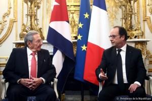 France-Cuba : Visite d'État de M. Raul Castro Ruz
