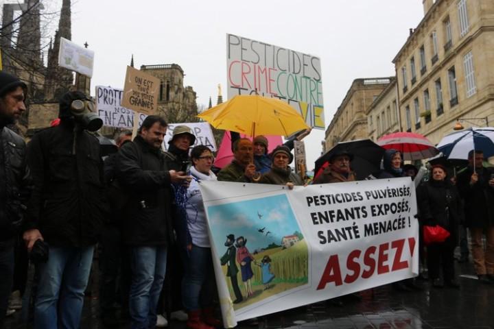 3Marche blanche contre les pesticides à Bordeaux