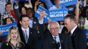 """Bernie Sanders promete una """"revolución política"""" en Estados Unidos"""