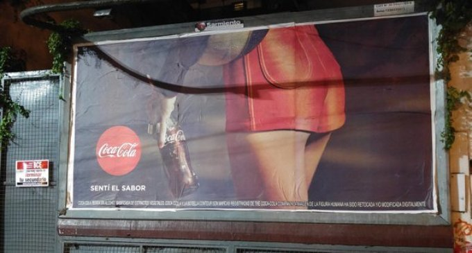 Coca Cola: sentí el sabor del sexismo
