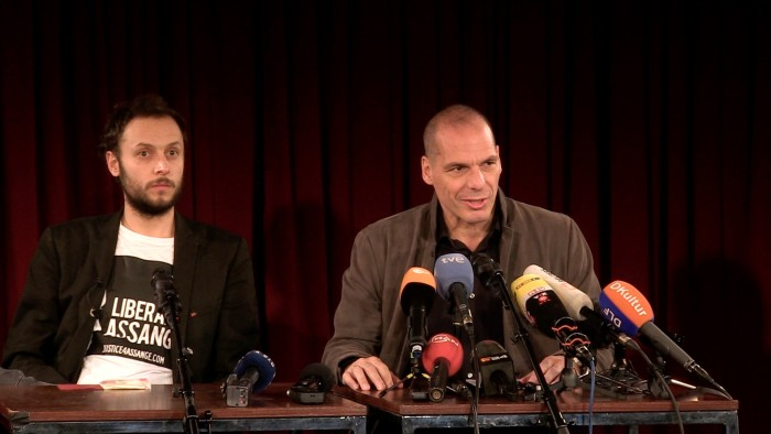 VIDEO Reports: Varoufakis and Horvat launch Democracy in Europe Movement 2025