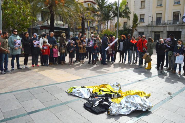 Ceuta en defensa de los refugiados