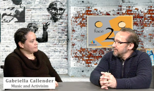 Gabriella Callender on Face 2 Face