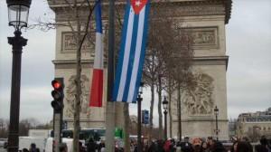Francia recibe al presidente cubano, Raúl Castro