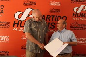 Partido Humanista de Chile apoya proceso de paz en Colombia