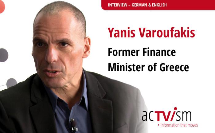 VIDEO: Yanis Varoufakis – Le origini della crisi economica globale europea
