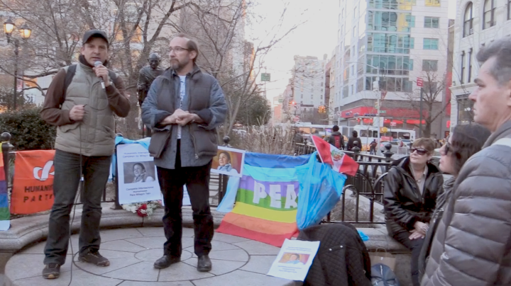 Video: NYC Request the Liberation of Milagro Sala