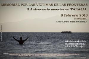 En memoria de las víctimas en las fronteras