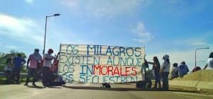 Se hizo sentir en todo el país el reclamo por la liberación de Milagro Sala