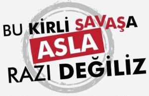 """Turchia, appello """"No alla guerra in Siria!"""""""