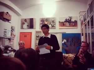 Pieno il locale di Energia per la presentazione di Dario Ergas a Roma