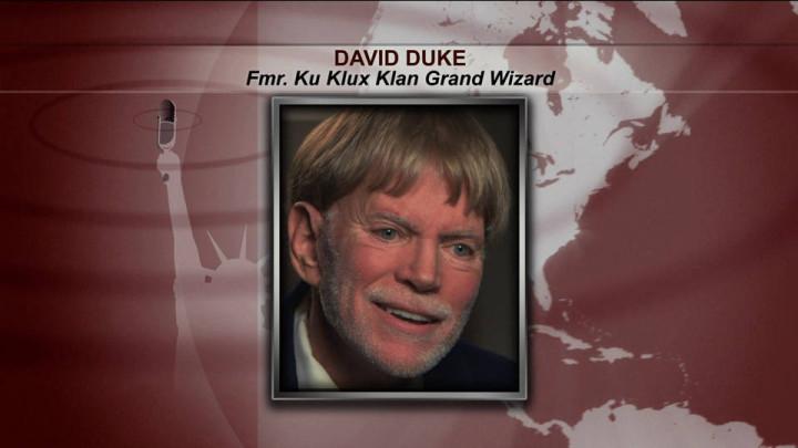 """Ex """"gran mago"""" del Ku Klux Klan David Duke insta a personas a apoyar a Trump"""