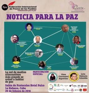 Comunicado Oficial FIPU N°1, ante el ataque a la libertad de prensa en los diálogos de paz