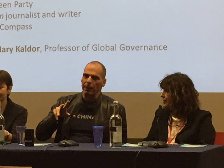 Varoufakis in London joins Compass panel