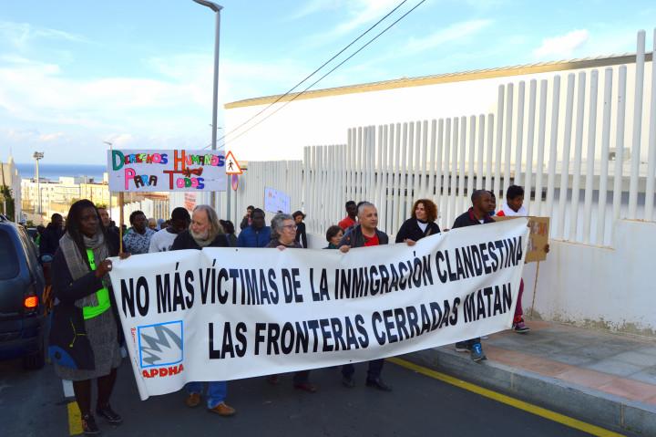 III Marcha al Tarajal: «la UE en guerra contra migrantes y refugiados»