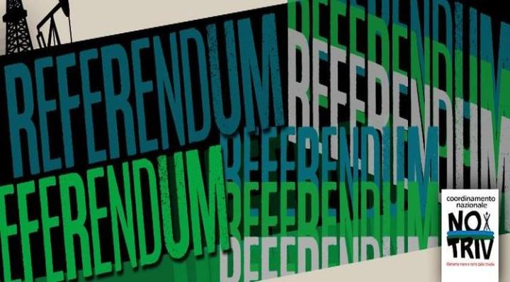 """No Triv: """"Referendum il 17 aprile schiaffo alla democrazia"""""""