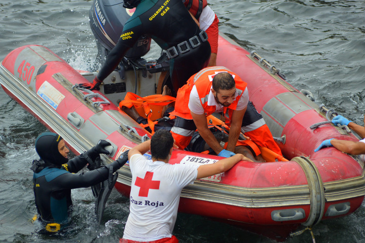 rescate innmigrante Santa Catalina fallecido 31-8-2015 11