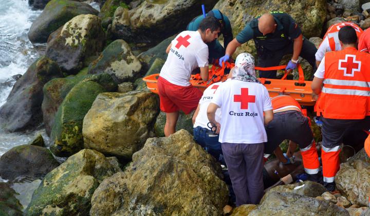 rescate innmigrante Santa Catalina fallecido 31-8-2015  3