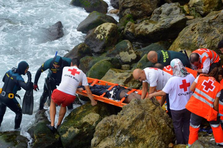 rescate innmigrante Santa Catalina fallecido 31-8-2015 4