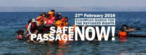 27 febbraio: Marcia europea per i diritti dei rifugiati