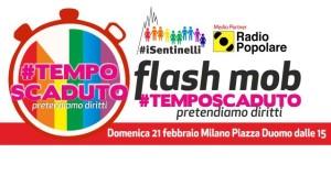 Tempo scaduto – Flash mob per i diritti
