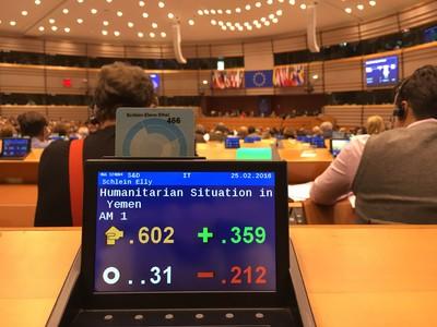 Il Parlamento Europeo vota per embargo armi ad Arabia Saudita