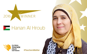 Global Teacher Prize 2016 a Hanan Al Hroub, tra speranza e contraddizione
