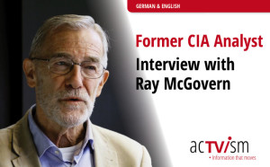 CIA Analyst Ray McGovern – Exklusives Interview Video