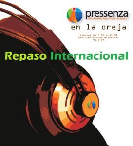 Repaso Internacional En La Oreja 11/11/2016