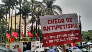 São Paulo – Frente Brasil Popular contesta ação do MP e convoca atos