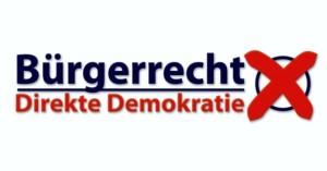 Protest gegen Gesetzesänderung zu direkter Demokratie